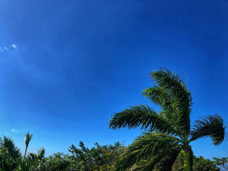 Ocho Rios sky.