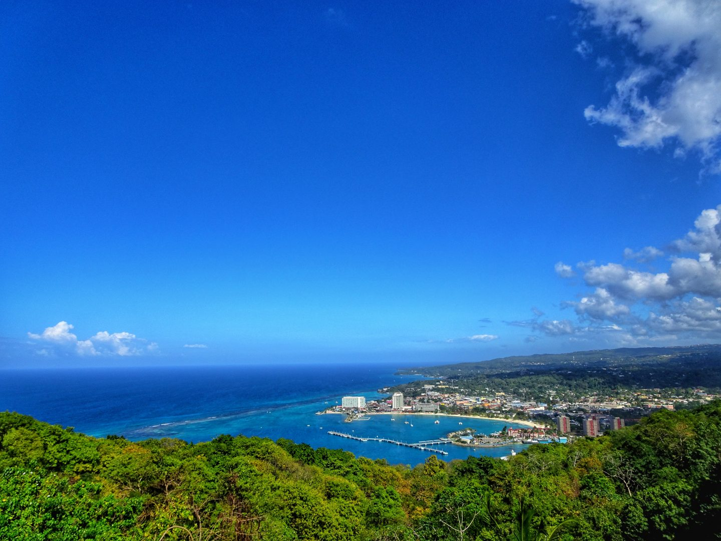 Views of Ocho Rios.